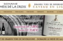Nouveau : boutique en ligne vins de Bourgogne
